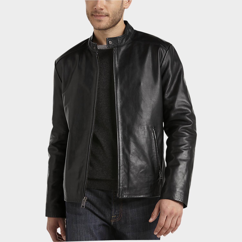 Leather Jackets - Men's Leather Jacket | Men's Wearhouse